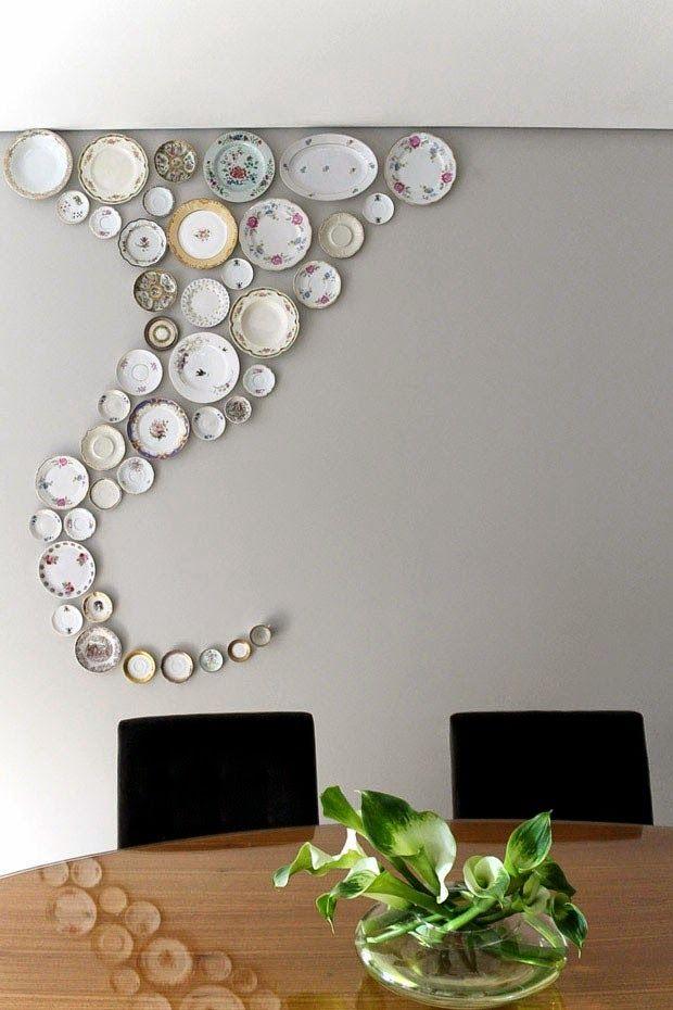 Les 25 meilleures id es de la cat gorie assiette murale for 4 murs decoration murale
