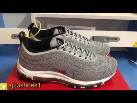 Nike Air Max 97 White and light Umboxing Review ON