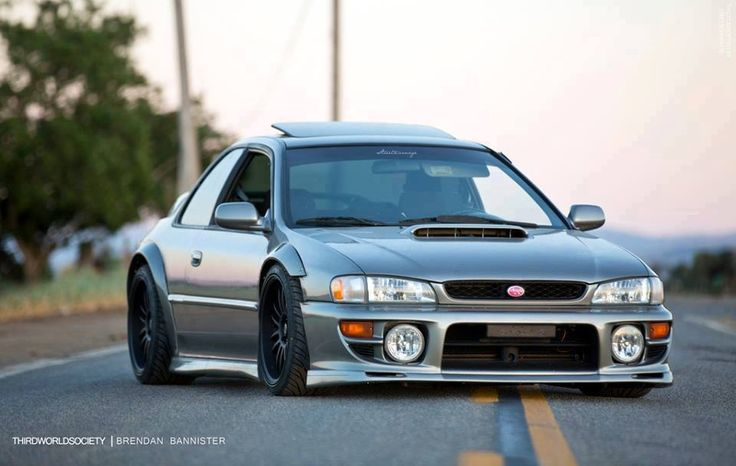 Subaru Impreza widebody.  I like this.. A lot.