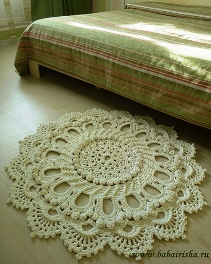 Best 25+ Crochet Mat Ideas On Pinterest