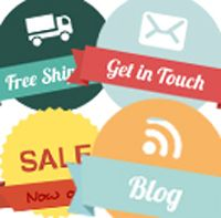 Free Badges for your website #graphics
