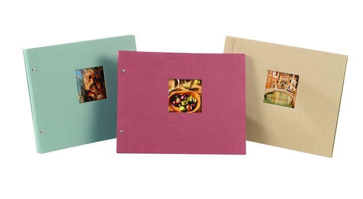 goldbuch Fotoalbum Bella Vista Trend als großes, erweiterbares Schraubalbum