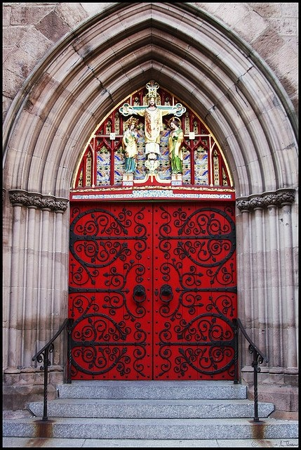 10 Best Doors Red And Otherwise Images On Pinterest Episcopal