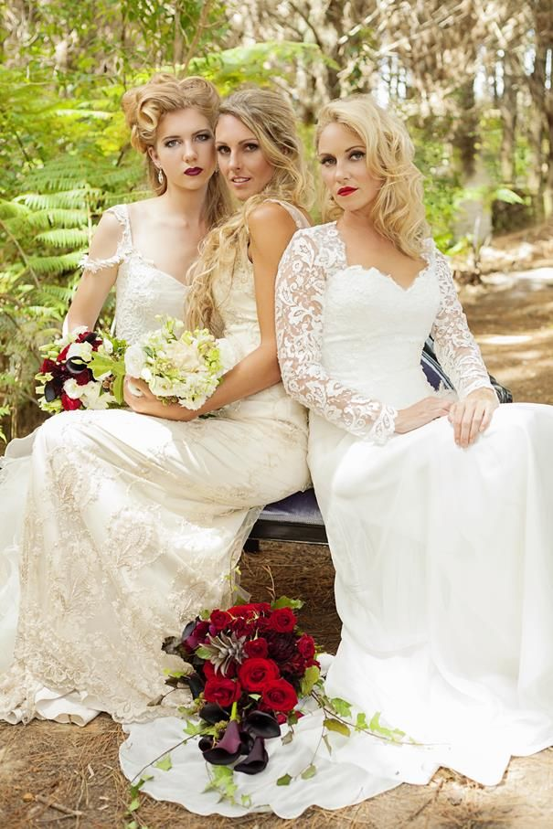 'An Enchanted Forest' Inspiration Shoot now on the blog www.looklovewed.co.nz/real-weddings/! Enjoy x