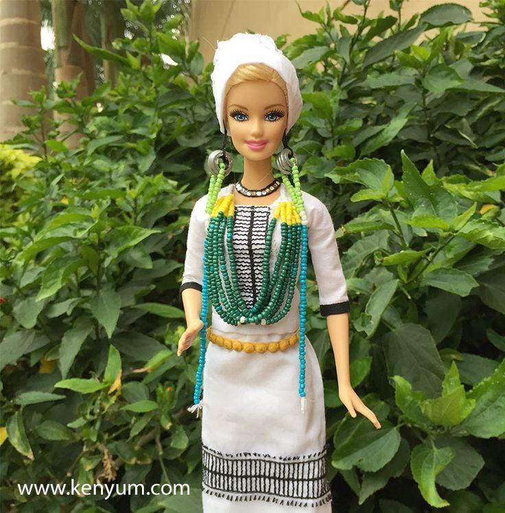 Mopin attire for Barbie dolls