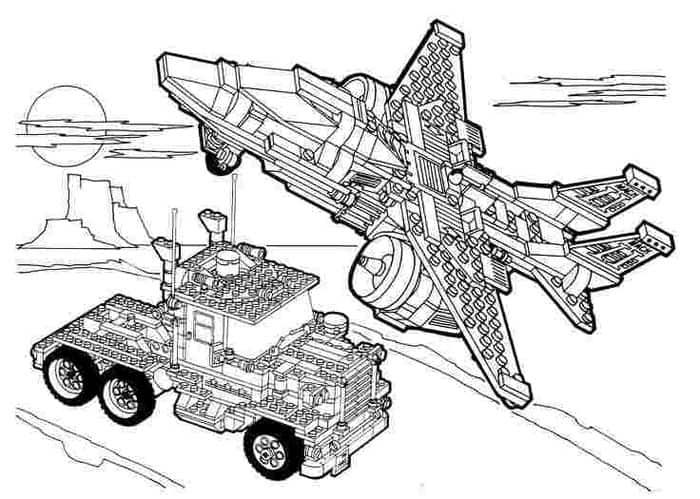 Lego Block Coloring Pages Lego Coloring Pages Space Coloring Pages Lego Coloring