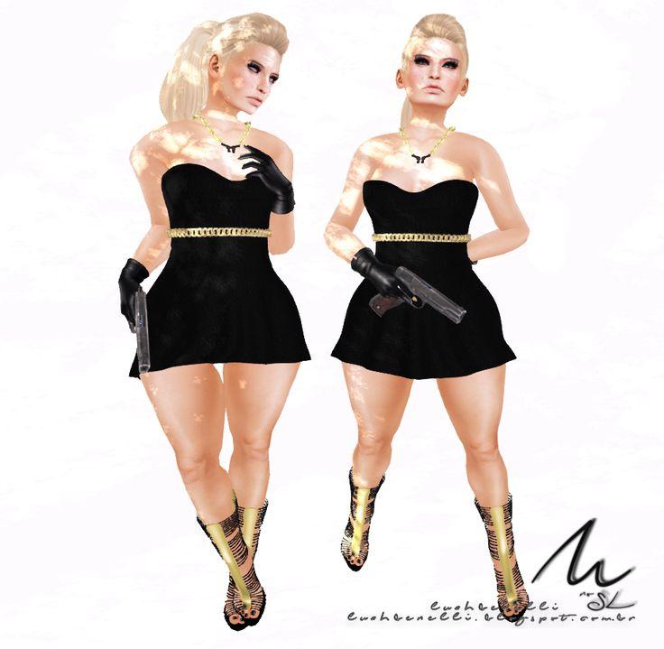 Moda no SL by Luah Benelli: :MF: Melak Fashion Exclusive for  Gangsta Fair!