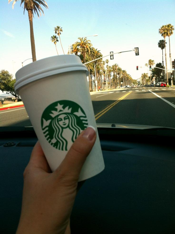 On my way to Santa Monica.