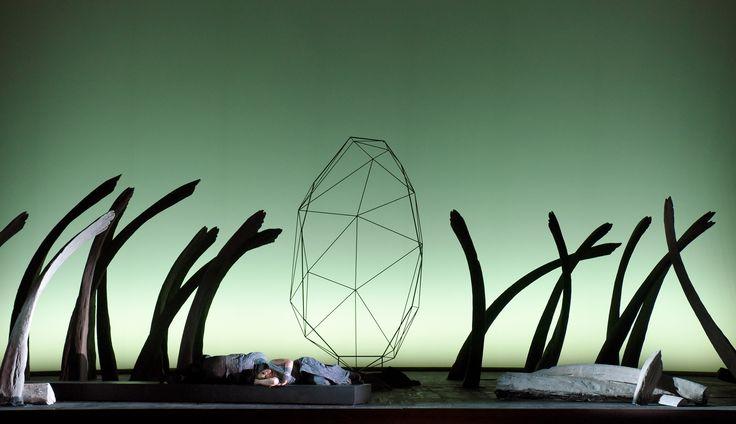 TRISTAN ET ISOLDE   Torsten KERL (Tristan) - Rachel NICHOLLS (Isolde)   Photo © Vincent PONTET