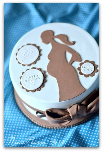 21 best PREGNANT CAKES images on Pinterest Petit fours Baby