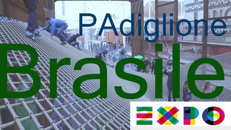 The Brasilan pavilion in expo 2015