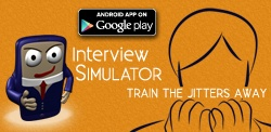 Interview Simulator App helps with interview preparation.