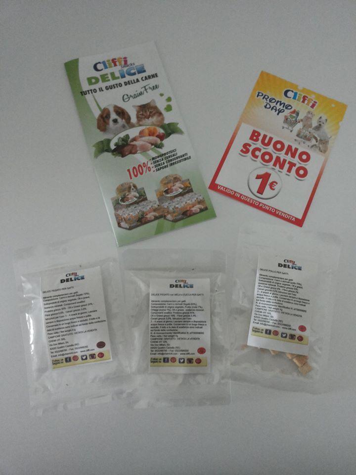 DELICE SNACK liofilizzati per cani e gatti - freeze dried snacks for cats and dogs <3