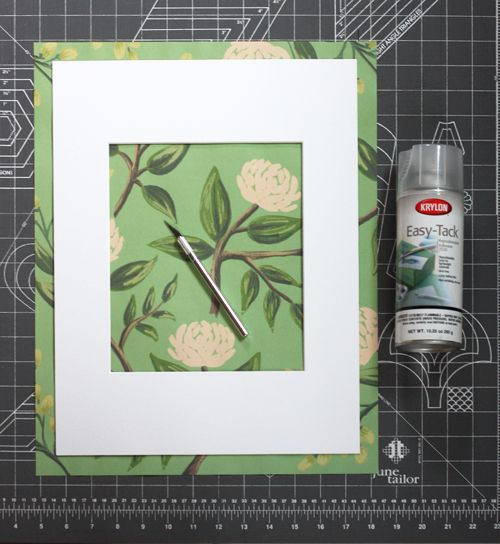 How To Make A Decorative Picture Mat How About Orange Photo Fun