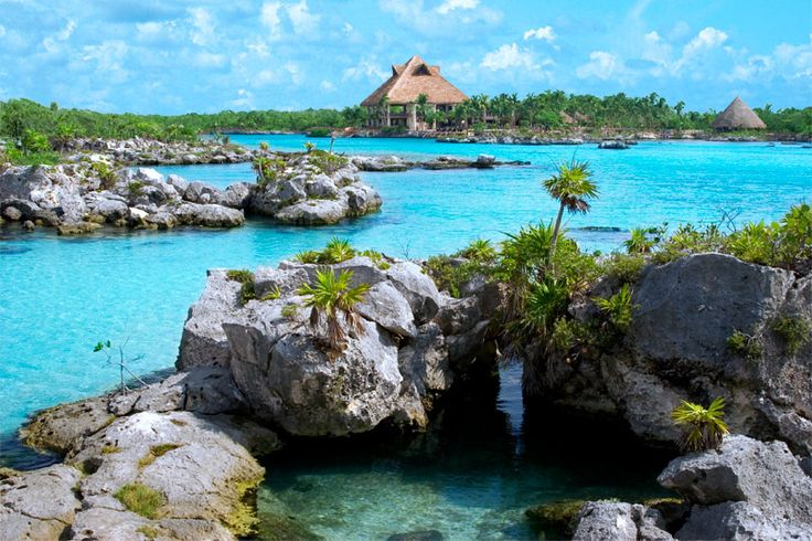 Declared one of Mexico's Natural Wonders, Xel-ha is a beautiful collection of inlets, lagoons, cenotes and caves with crystal clear waters.