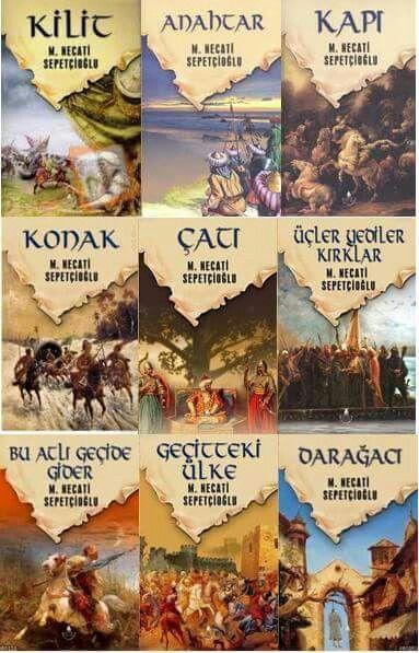 Mustafa Necati Sepetçioglunun tarihi roman dizisi