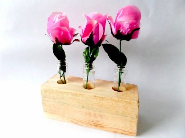 wooden vase von artdesignstore auf DaWanda.com