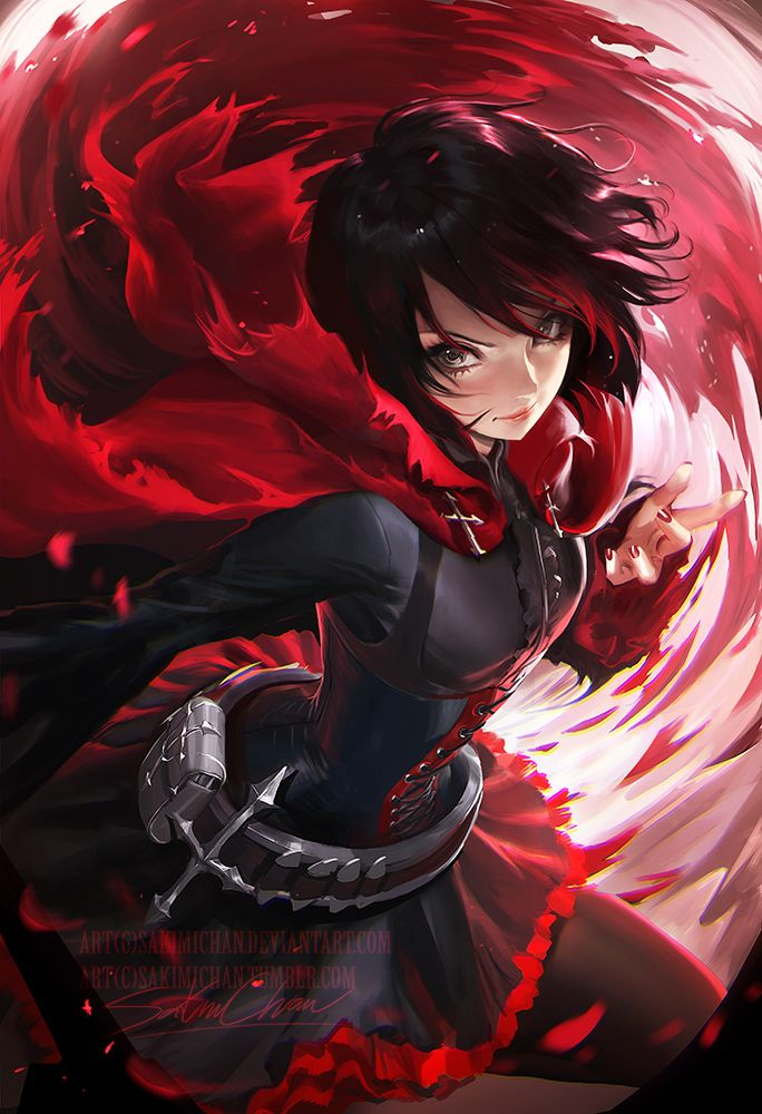 Ruby from Rwby *_* started watching it again ~I'll paint more of the cast later on I think it'll be a fun mini series. PSD+high res,steps,vidprocess etc>https://www.patreon.com/posts/ruby-term-41-6830105
