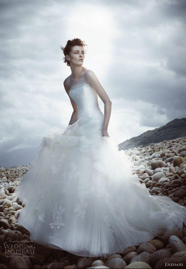 12 best Enzoani 2013 images on Pinterest | Short wedding gowns ...