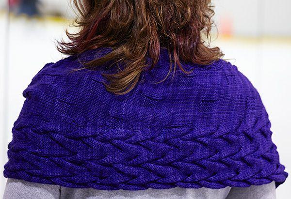 Twisted Circles shawl: Knitty.com – Winter 2014