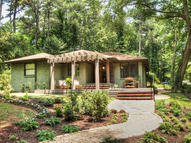 27 Best Images About Ranch Homes With Pergolas On