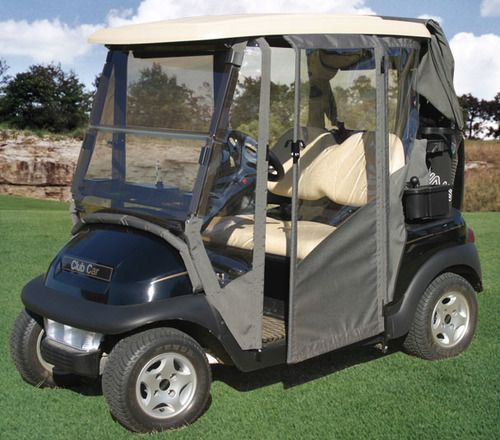 Hinged Door Golf Cart Enclosure Club Car EZGO Yamaha