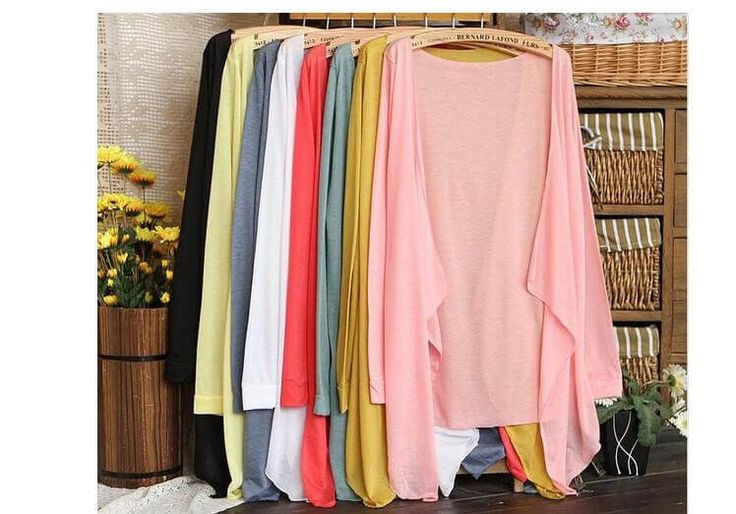 These Cardigans are perfect for spring and summer or if you just like a light throw-over on your arms with a small tank top, very trendy look. Feels like you are wearing nothing yet you have a super s