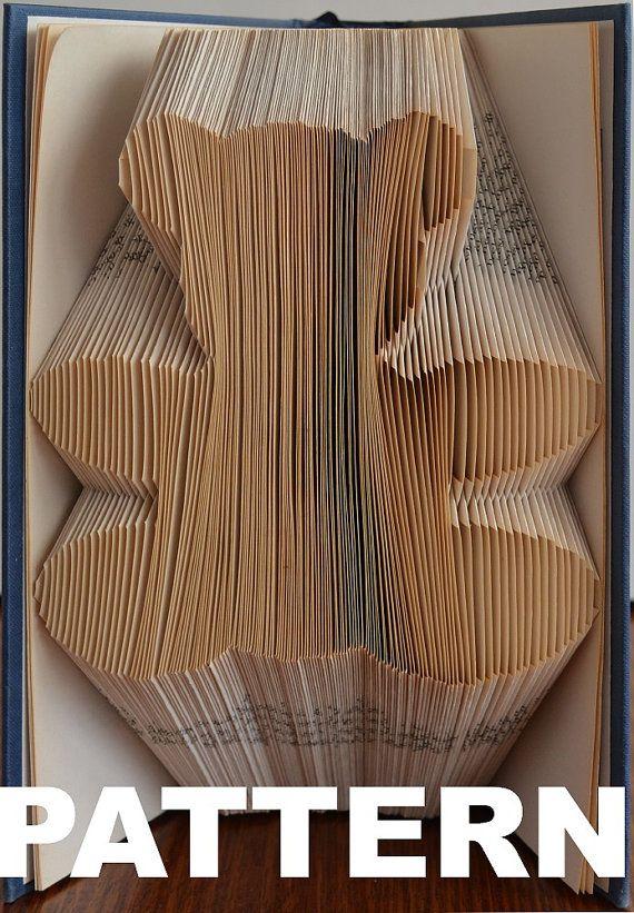 Book Folding Pattern  Bear  Free by BookFoldingAustralia on Etsy
