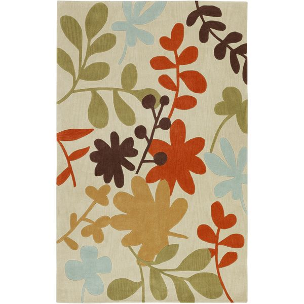 Hand-tufted Martil2 Parchment Rug (9' x 13') - Overstock Shopping - Great Deals on 7x9 - 10x14 Rugs