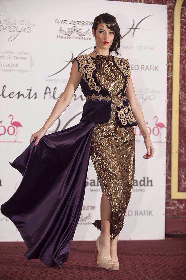 algerian fashion sequined karakou traditional dress in. Black Bedroom Furniture Sets. Home Design Ideas