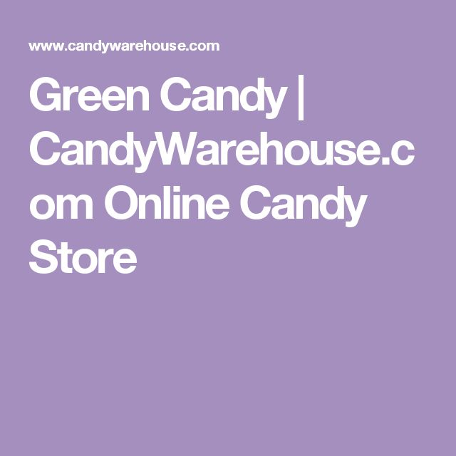 Green Candy | CandyWarehouse.com Online Candy Store