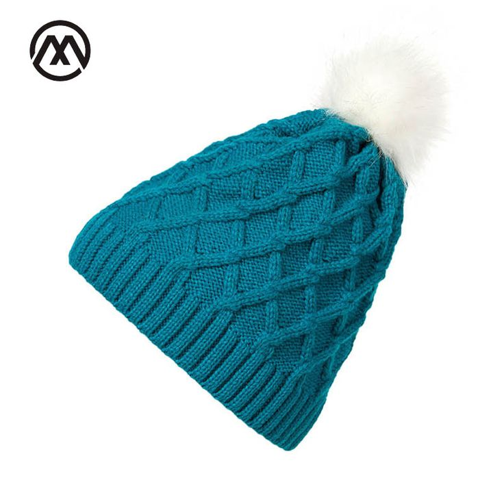 >> Click to Buy << Fur Winter Hats For Women Knit Hats Beanies Female Rabbit Fur Pompons Crochet Hat Grid Winter Stretchy knitted Cap Girl Chapeu   #Affiliate