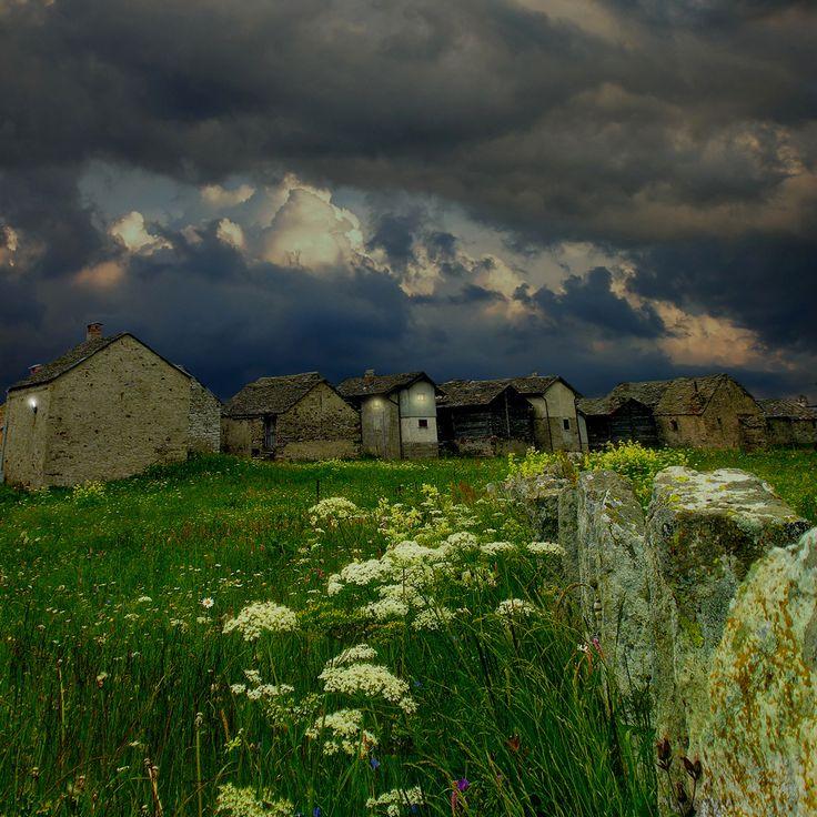 small mountain village by Giuseppe Lazzara on 500px