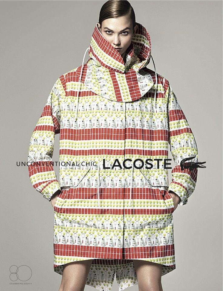 Les 3 nouveaux prints de Lacoste, toujours dans le cadre de sa campagne en rupture avec les codes traditionnels de la mode, créés par BETC. «Unconventional chic.»