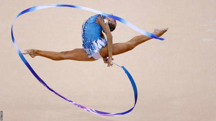 Chrystalleni Trikomiti of Cyprus in the Individual All Round Rhythmic Gymnastics competition: London2012, 14 Photo, Photo Galleries
