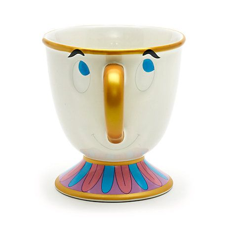 Chip Character Mug, Beauty and the Beast