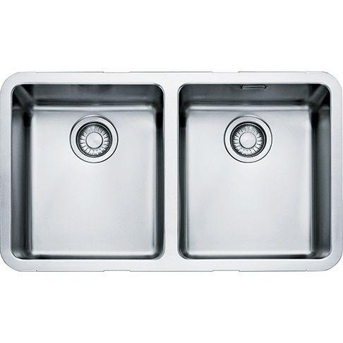 £436.99 Franke Kubus KBX120 34-34 Stainless Steel Kitchen Sink