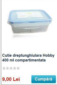 cutie mica de 300 ml