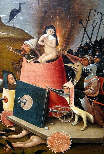 The Last Judgment (Detail) Studio of Hieronymus Bosch