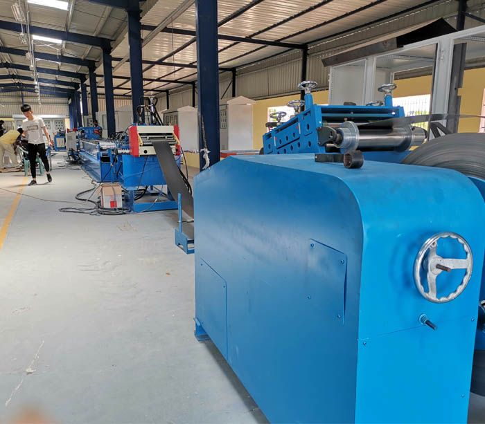Flush Mount Electrical Enclosure Making Machine In 2020 Roll Forming Making Machine Metal Forming