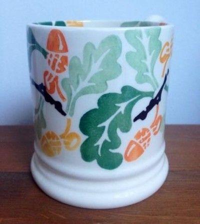 Acorn & Oak Leaves 0.5 Pint Mug (2012 Sample)