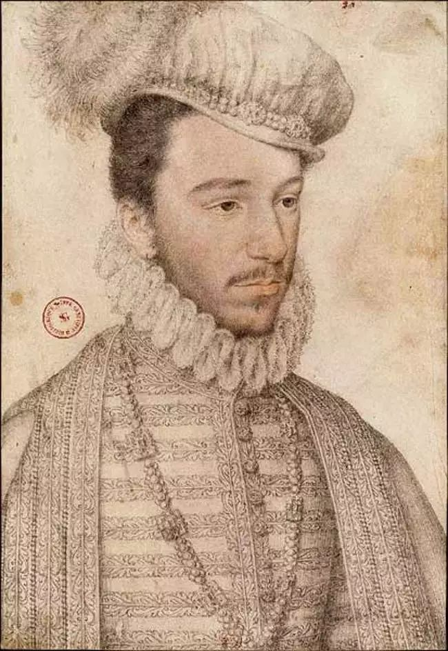 Henri III, roi de France et de Pologne, par Clouet