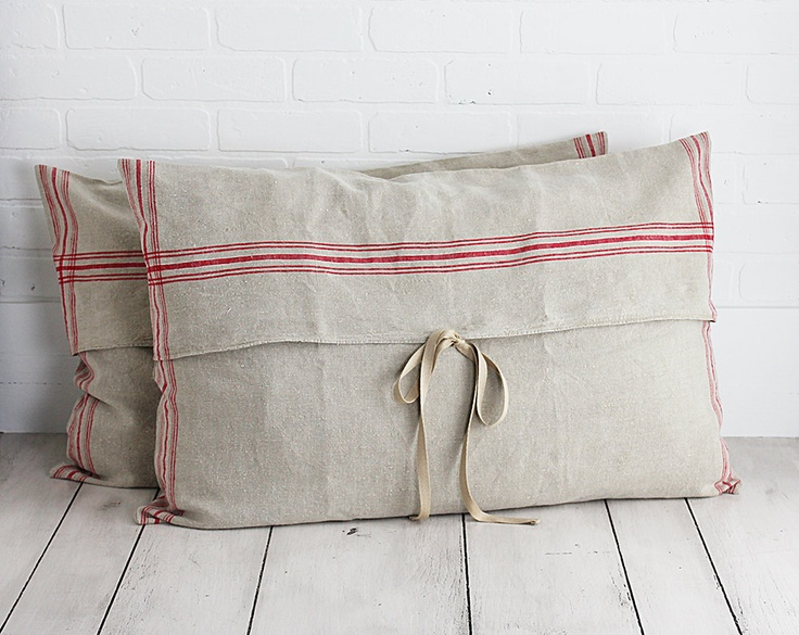 Housses de coussin en lin / Linen Pillow Covers