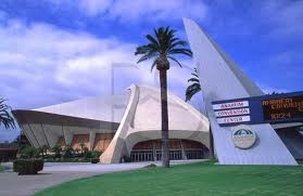 Many Googie buildings have been torn down, but hopefully the Anaheim Convention Center will last a great many more years.