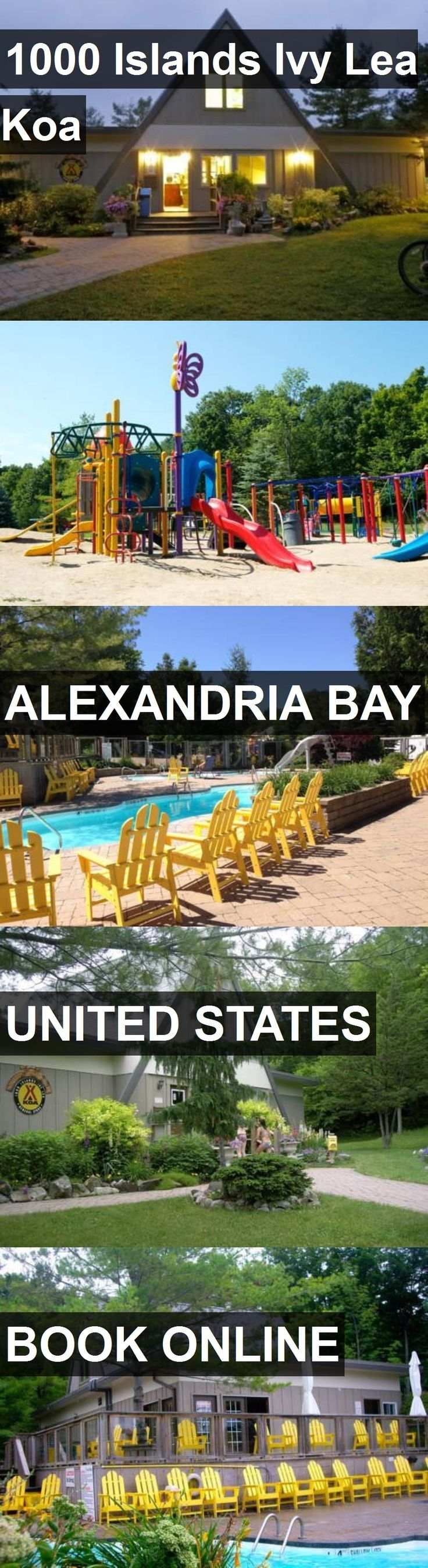 Hotel 1000 Islands Ivy Lea Koa in Alexandria Bay, United States. For more information, photos, reviews and best prices please follow the link. #UnitedStates #AlexandriaBay #1000IslandsIvyLeaKoa #hotel #travel #vacation