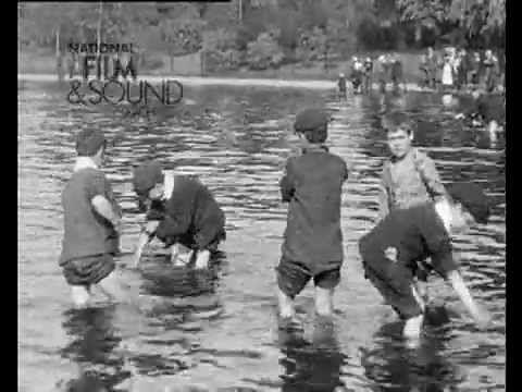 Lost film footage of 1904 London