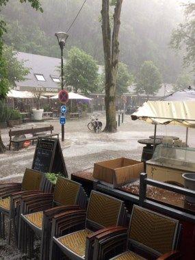 Inondations dans le centre de Durbuy : plusieurs restaurants... - Toute l'actu 24h/24 sur Lavenir.net
