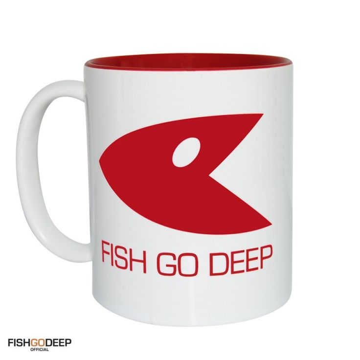 Fish Go Deep Logo Mug & Tin From HairyBaby.Com