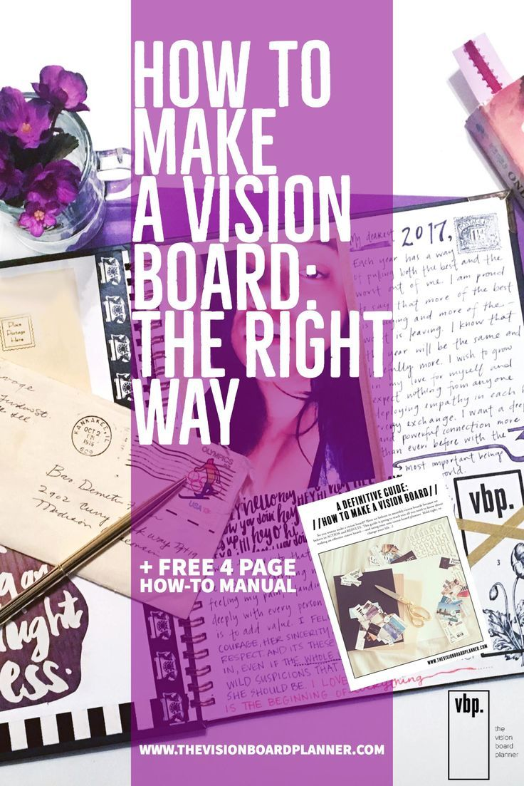 Wanna Make the Best Vision Board? Click here! Vision Board DIY | Vision Board How To | Vision Board Ideas | Vision Board Inspiration