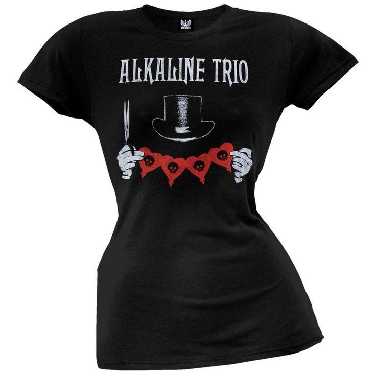 Alkaline Trio - Top Hat Juniors T-Shirt